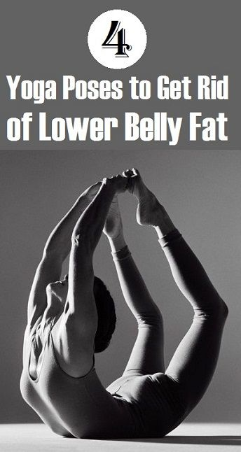 Top 4 Yoga Poses to Get Rid of Lower Belly Fat..