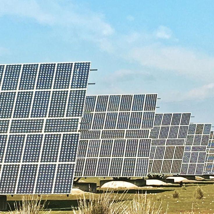 Solar panels on our way to Excopesa montería...wild Spain! #hunting#excopesa#iberaliatv#huntingworldwide#hunts#iloveit#wildboars@excopesa#caza#soycazador#solarpanels#sauer#mauser#zeiss#gecoammunition#extremadura