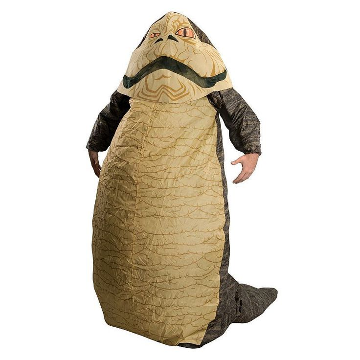 Star Wars Inflatable Jabba the Hutt Costume - Adult, Multicolor