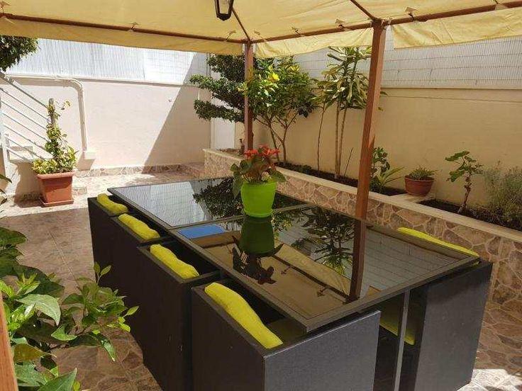 Moderne 60m² EG-Wohnung mit gr. Terrasse & Gemeinschaftspool: Helle, moderne Erdgeschosswohnung in Portitxol, mit 2 Schlafzimmern und 1 Bad. Küchenzeile, offener Wohn-Essbereich....