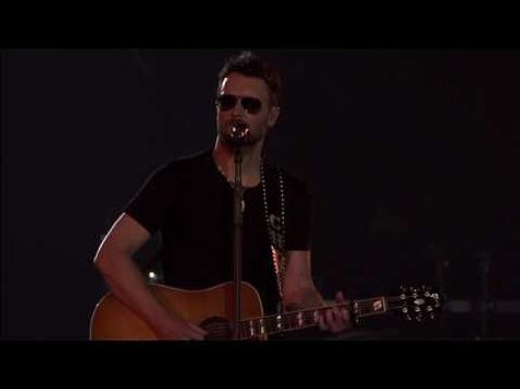 "Eric Church Calls Ashley McBryde on Stage to Perform ""Bible and a .44"" - YouTube"