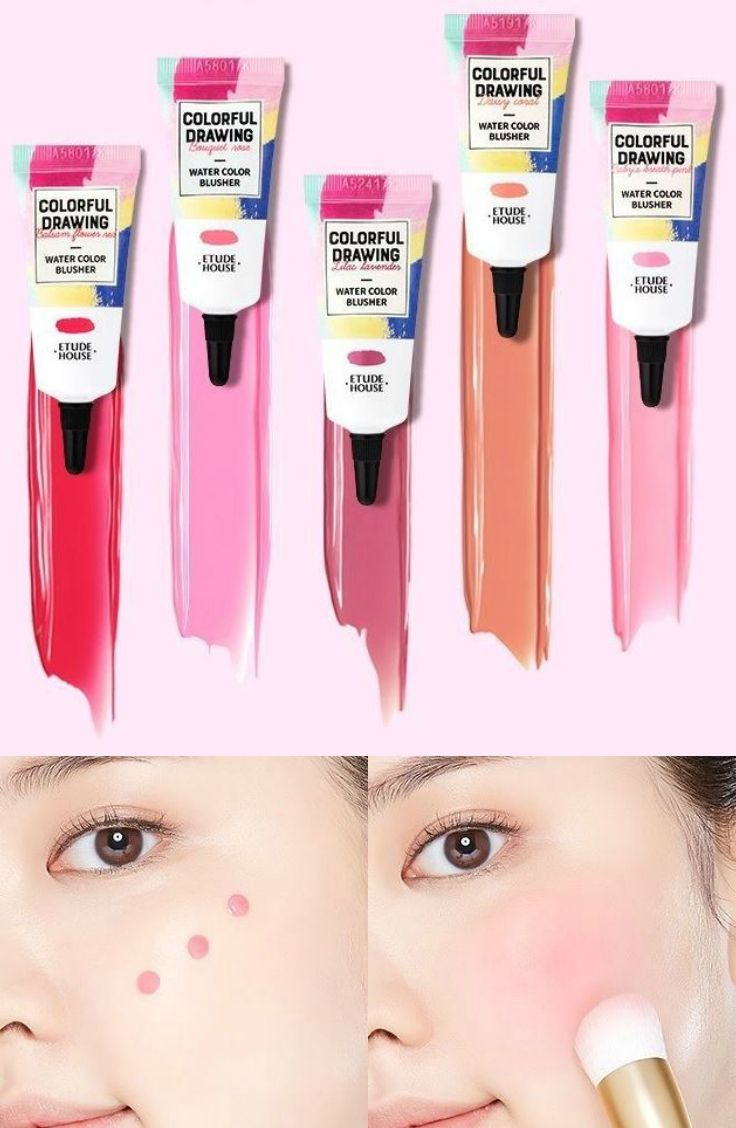 Etude House Colorful Drawing Water Color Blusher Pp501 Lilac