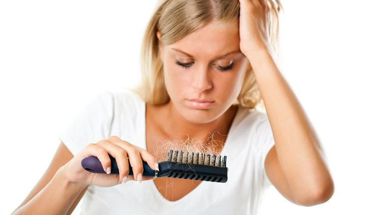 hair loss Signs of Iron Deficiency