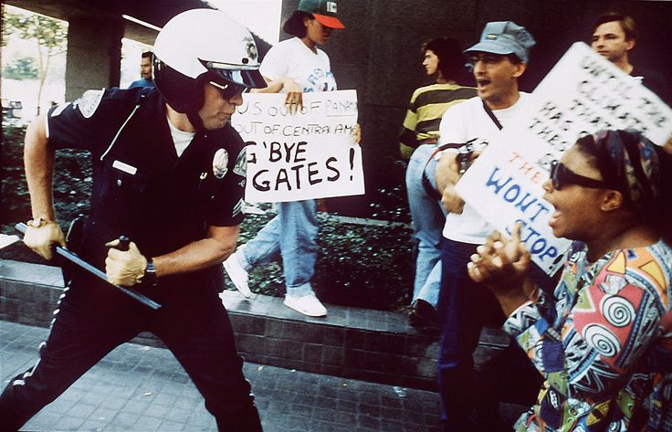 The 1992 Los Angeles riots began on April 29, 1992, after the acquittal of four LAPD police officers on trial for the beating of motorist Rodney King.  Video of his treatment after a March 3, 1991, traffic stop drew international attention.  Civil unrest, which included violence and looting, broke out on the streets of Los Angeles.