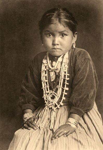 Dine Silversmith's daughter (Navaho)