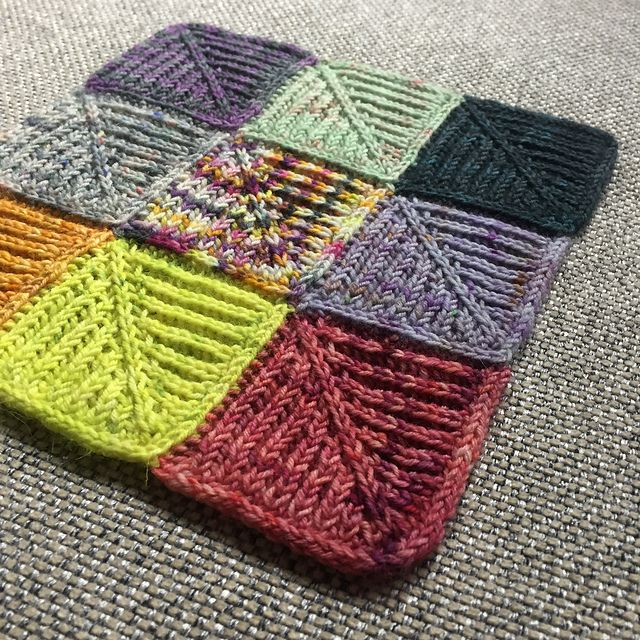 Domino Knitting Blanket Pattern : 17 Best images about Mitered Squares/ domino Knitting on ...