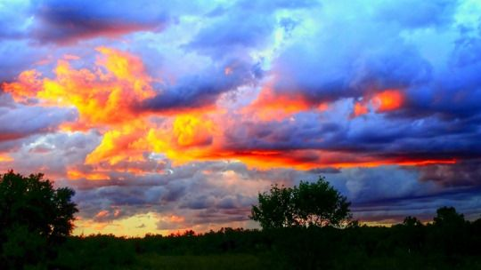 On a Warm Summer's Eve in La Coulee, Manitoba