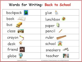 vocabulary writing activities for high school