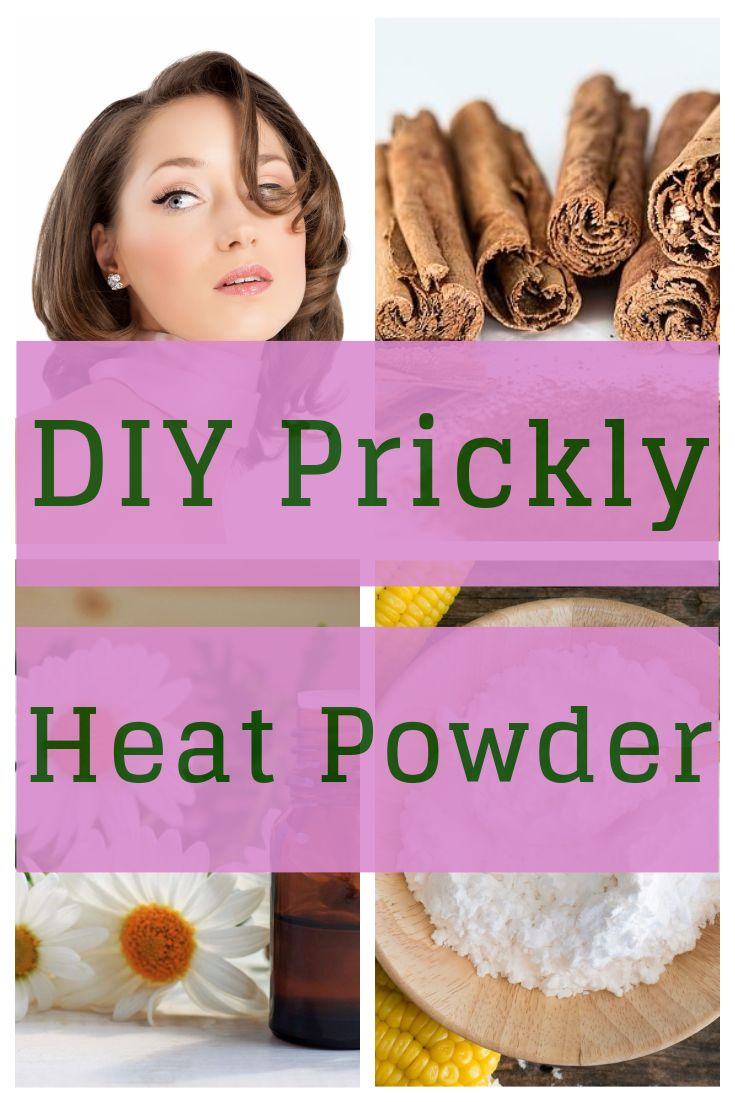 Wondering what to do about Prickly Heat Rash? Here's a DIY Prickly Heat Powder that works and is natural - http://beautynaturalsecrets.com/diy-prickly-heat-powder-for-normal-skin/