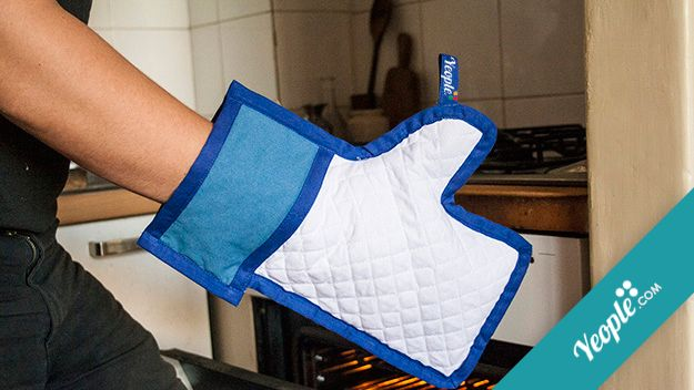 Like oven glove.
