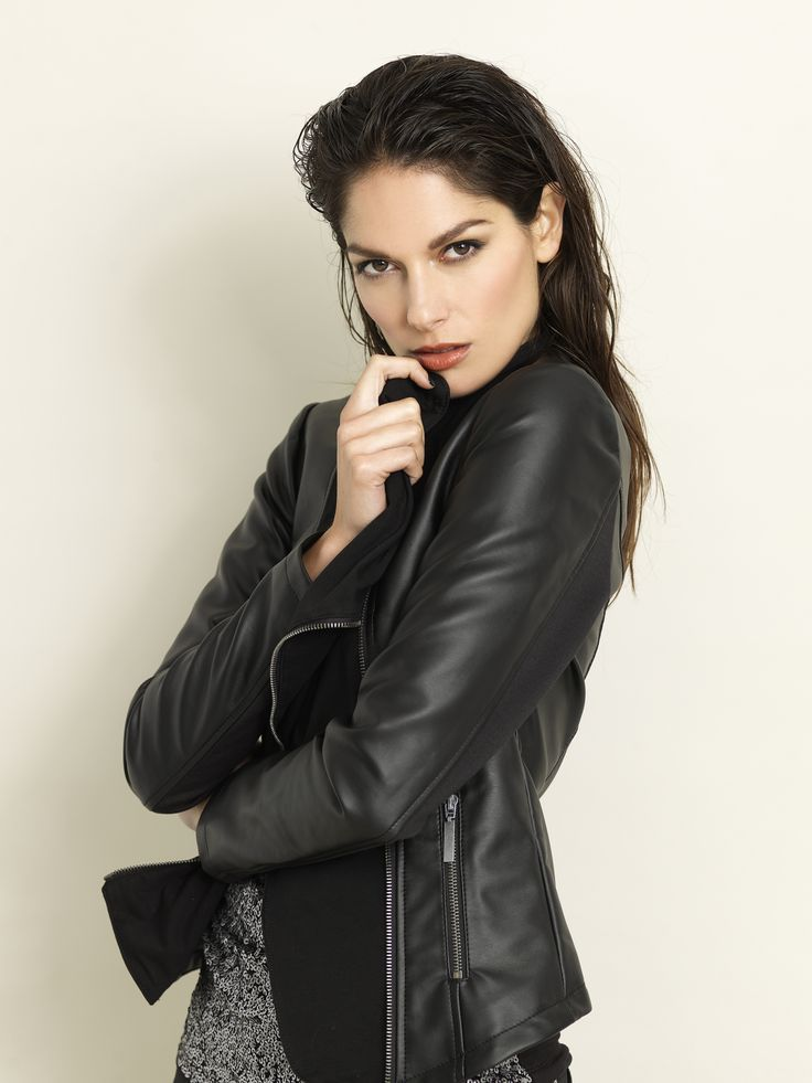 soyaconcept - leather jacket