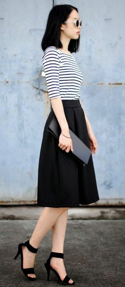 I love skirts like this.                                                                                                                                                                                 More