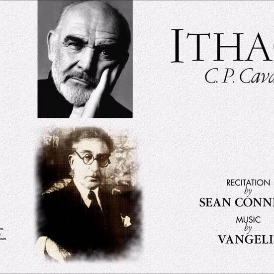 Ithaca C. P. Cavafy | Recitation by Sean Connery - Music by Vangelis