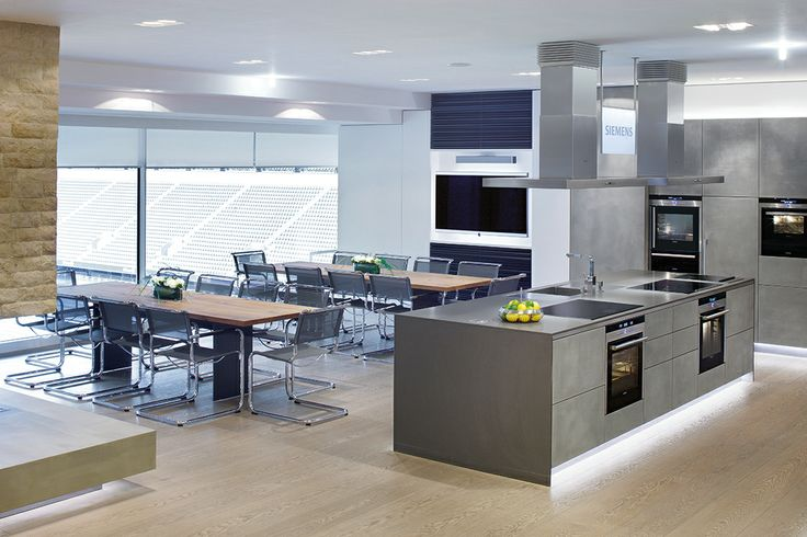 The #siemens #cookinglounge location offers an exceptional kind of ...