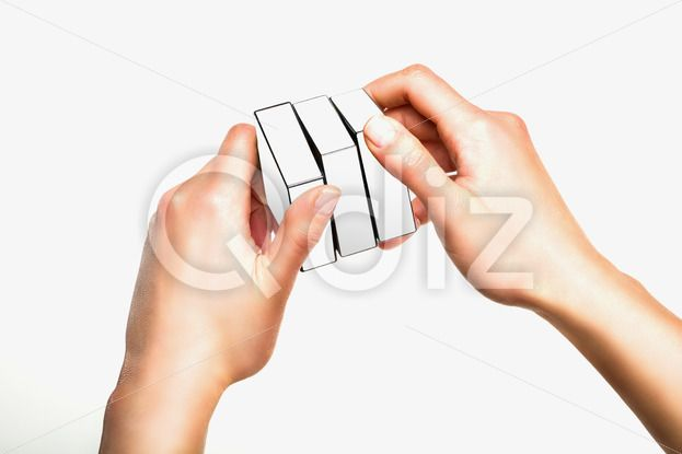 Qdiz Stock Photos | Hands holding white cube on white background,  #background #box #business #concept #creative #cube #decisions #effort #gift #give #hand #hold #idea #imagination #incentive #inspiration #object #solution #square #strategy #support #white