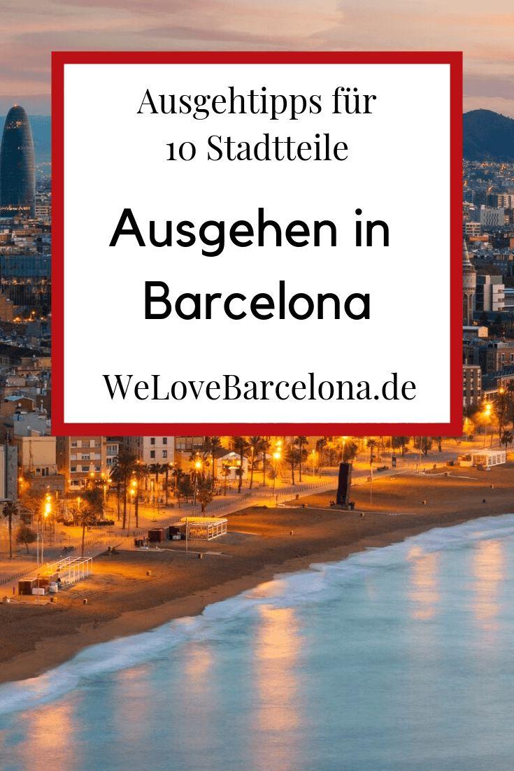 Ausgehen in Barcelona: ♥ Ausgehtipps für 10 Stadtteile