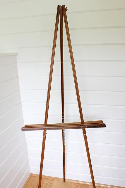 Wood Floor Standing Easel Galileo Pinterest