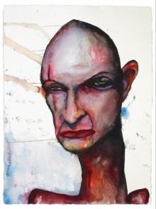 Marilyn Manson's John Locke painting