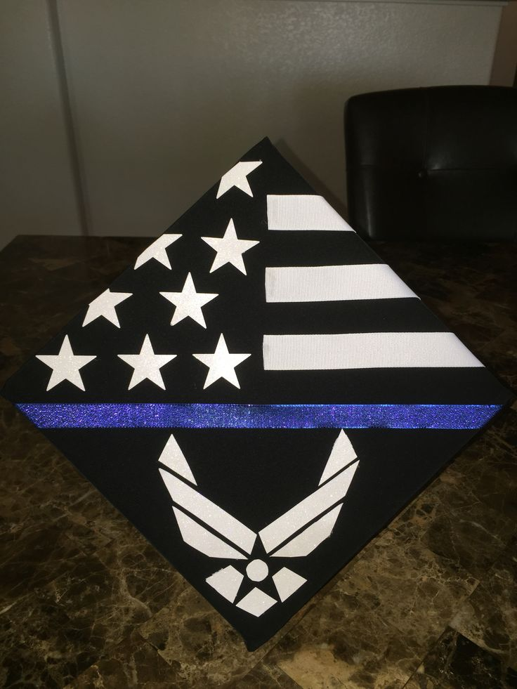 1000 ideas about decorated graduation caps on pinterest for Air force decoration