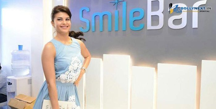 Why is Jacqueline Fernandez all smiles?