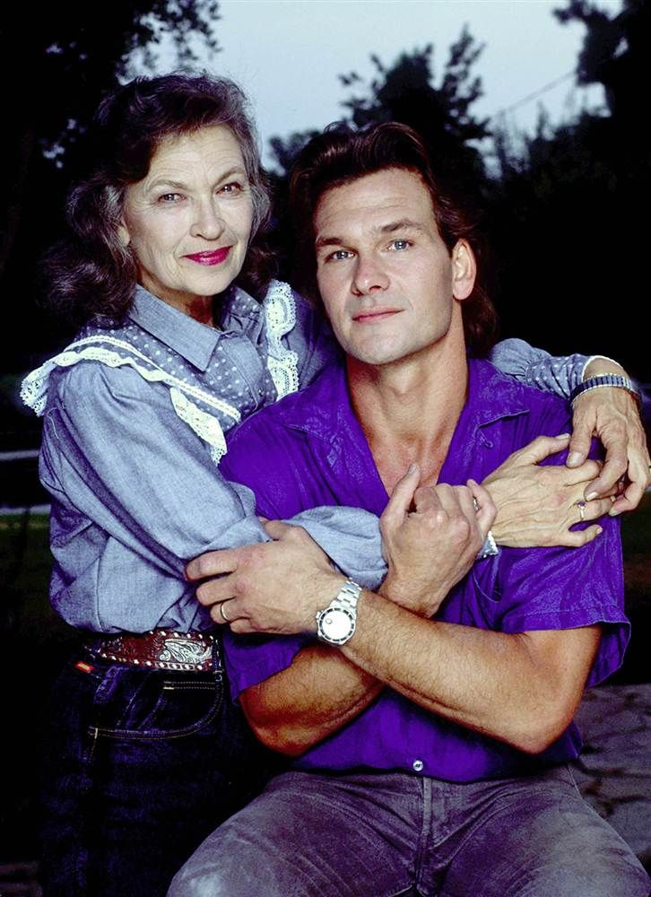 Patsy Swayze...February 7, 1927-September 16, 2013. She was the mother of Patrick Swayze.  I think it's nice that she gets to see her son again. She is known for her work on Hope Floats (1998), Urban Cowboy (1980) and Younger and Younger (1993)