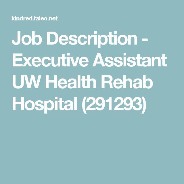 Best 25+ Executive assistant job description ideas on Pinterest - athletic director job description