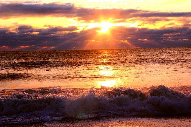 Free Image on Pixabay - Sunrise, Sea, Ocean, Sky, Water