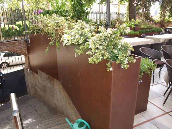 M s de 1000 ideas sobre jard n oxidado en pinterest for Acero corten perforado oxidado