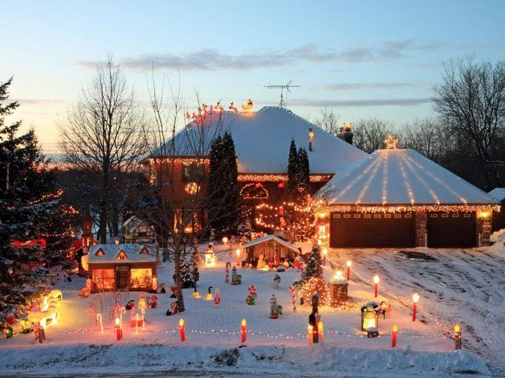 Best 25 christmas village lights ideas on pinterest christmas christmas lighting displays with a theme solutioingenieria Choice Image