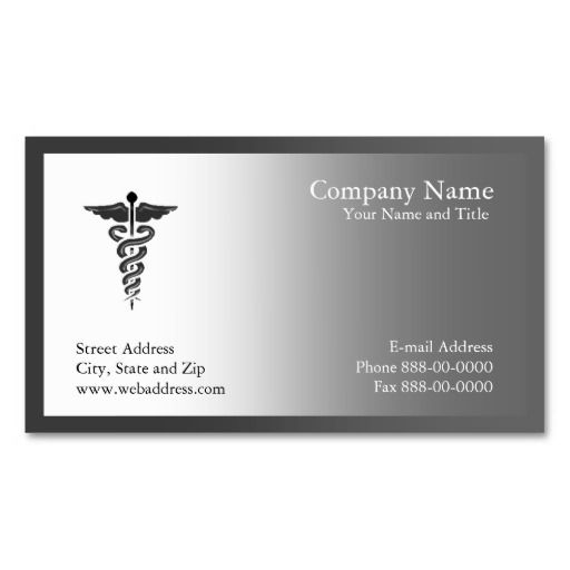 73 best Physician\/Surgeon Business Cards images on Pinterest - business card template for doctors