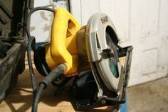 How to turn a circular saw into a table saw.