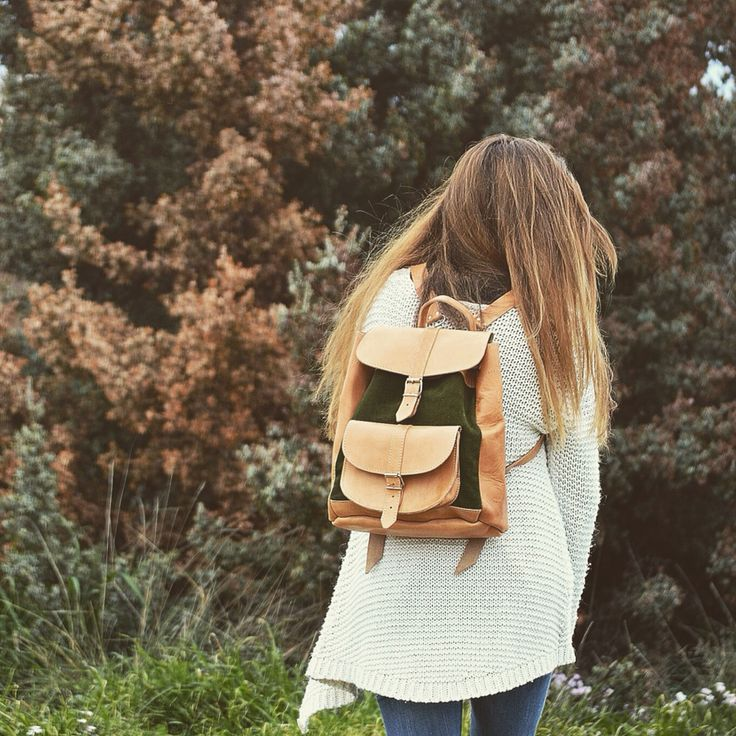 Handmade leather Greek backpack. SS15 collection ! Feel the love by  Rena Xenou