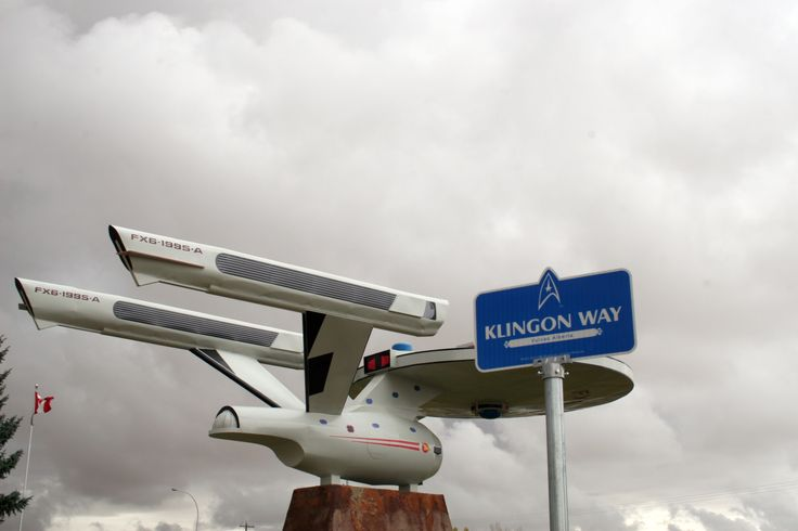 Vulcan, Alberta, Canada Glad we discovered this tribute to Star Trek!