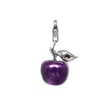 Purple Apple Pendant - Thomas Sabo Charm