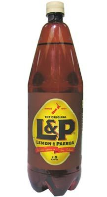 Lemon & Paeroa (L&P) is a famous New Zealand soft drink. Lemon and Paeroa was invented in 1904. After tasting some mineral water near the town of Paeroa, and mixing it with lemon it's inventor found it to be a very refreshing drink. It was so popular that a business was established to market it using the name Paeroa and Lemon. The name was later changed to Lemon & Paeroa and is now most commonly known as L&P.
