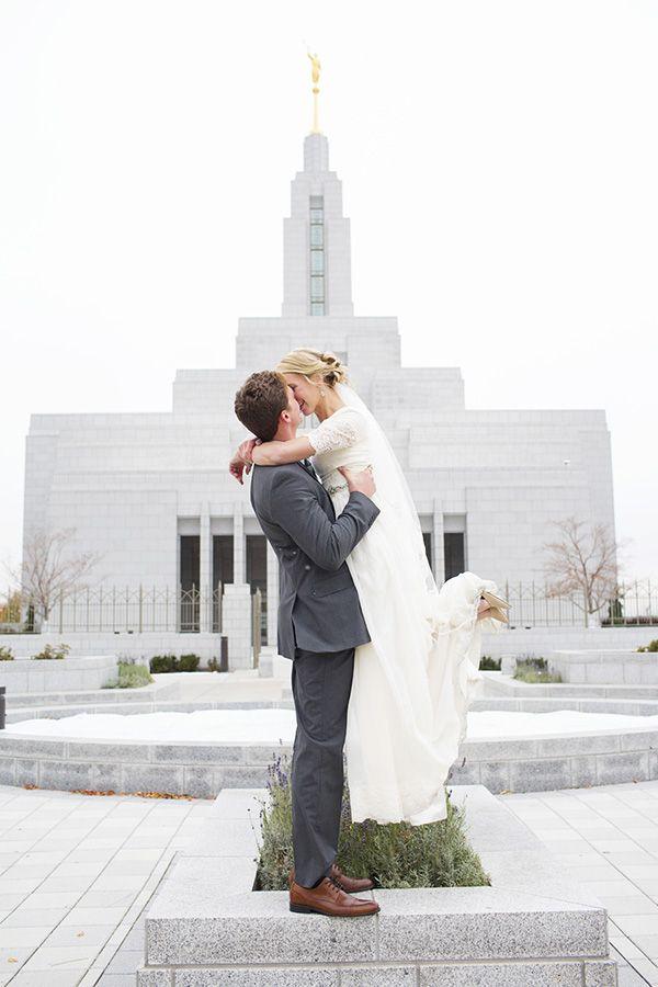Sadie Trevor // Draper Temple Wedding