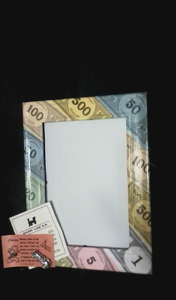 5X7 Monopoly frame