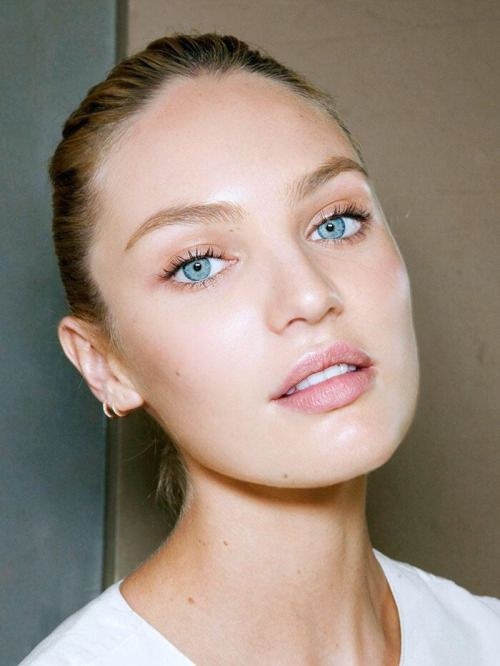 we adore this natural nomakeup makeup look on candice