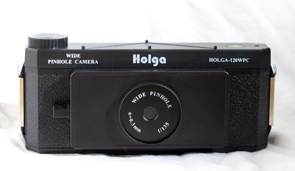 Oh, Holga, how I adore you. The Holga Wide Pinhole is the bizbomb for adding artistic flare to any shoot. Still purchasable today {for about $50}, photographers can play with long shutter speeds and large negatives. Anything still will be in focus, anything slightly moving with be very blurred, and anything speeding along will be invisible. Try her out.