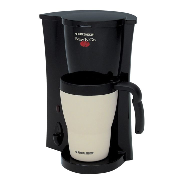 Black+decker Single Serve Coffee Maker, Black