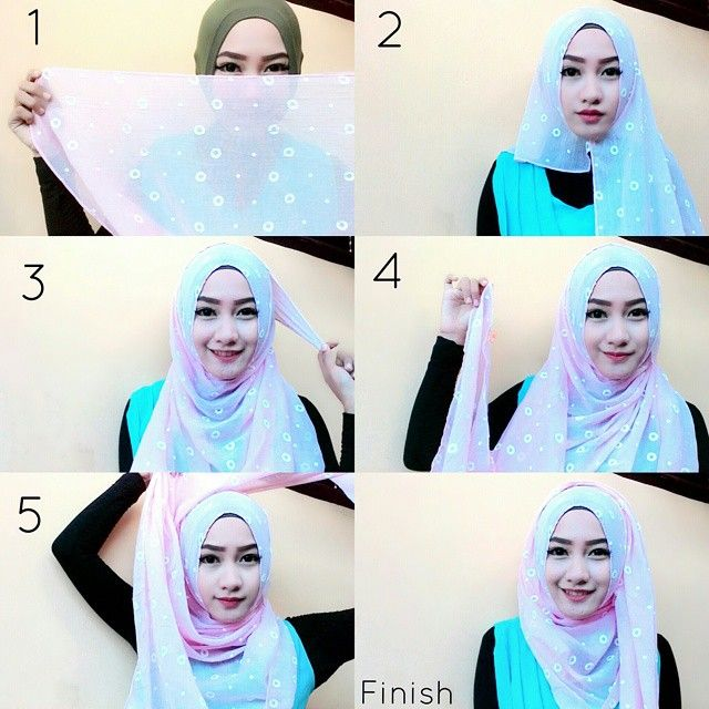 This is an easy everyday hijab style you can wear for your daily walks out, it looks beautiful and can be adapted on every face shape. Here are the steps for this style: Use your hijab from the width Place it…