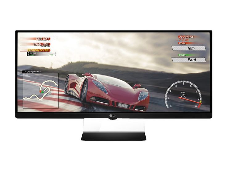 UltraWide display is designed for smooth game performance without screen tearing