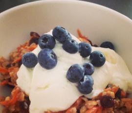 Recipe Carrot Cake Porridge by Sinead Dyer - Recipe of category Basics