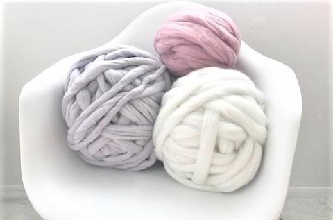 Chunky Cotton Tube Yarn   Knitting patterns   Chunky knit