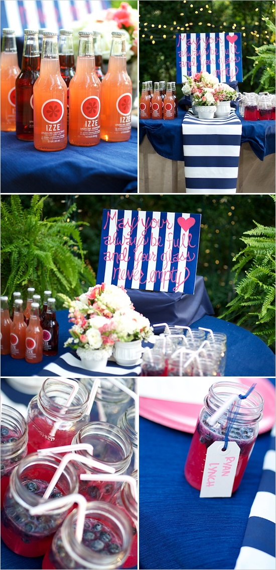 navy and pink wedding ideas navy blue sangria and wedding. Black Bedroom Furniture Sets. Home Design Ideas