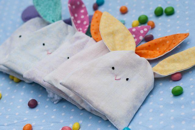 Ceci EuQfiz: Saco de coelho com molde grátis