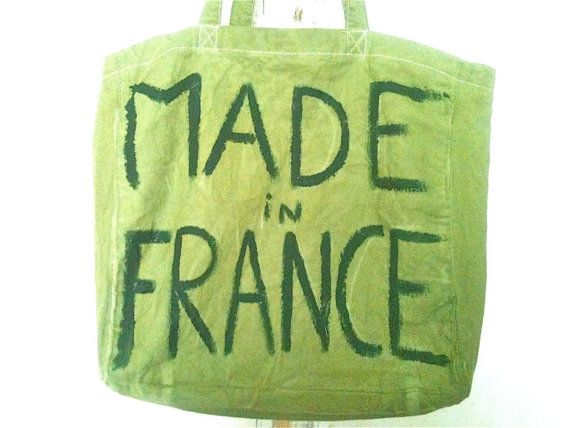 Made In France Bag / My Little French Shop by MyLittleFrenchShop, $89.00