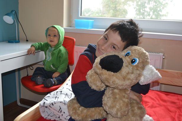 Dla młodszego brata - Oskarka, miejsce u Kamila też się znajdzie:-)