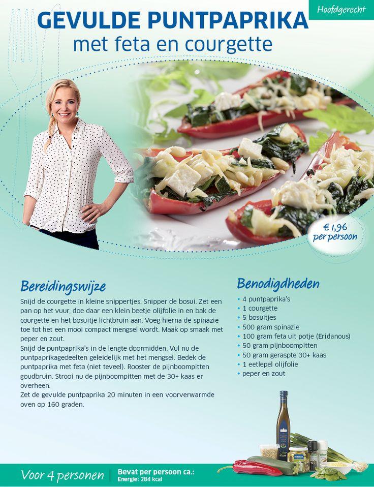 Gevulde puntpaprika met feta en courgette - Lidl Nederland