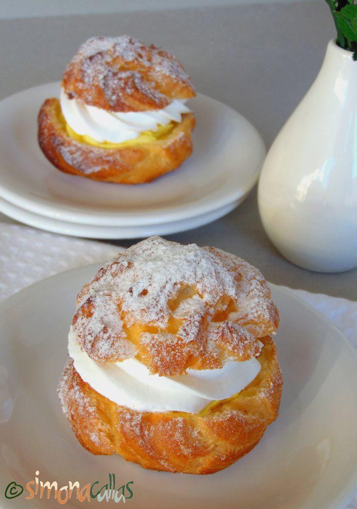 Choux a la creme prajitura 2